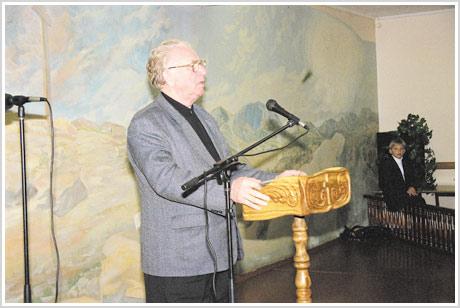 На похоронах И.П.Федотова